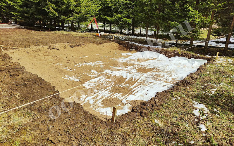 резиновые покрытия для частных территорий и загородных участков