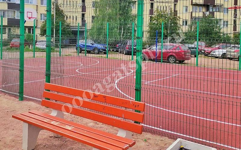 искусственное покрытие стадиона
